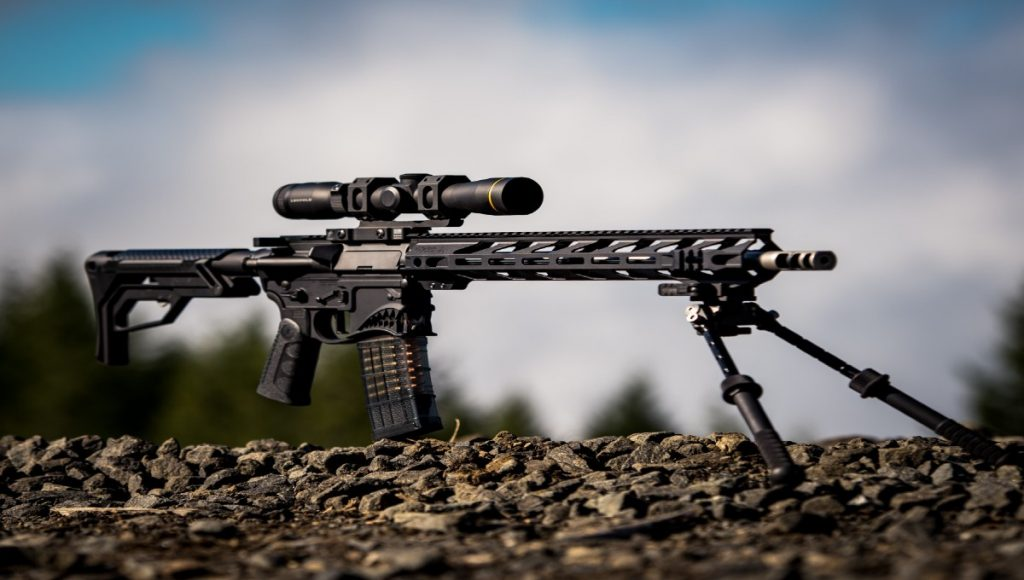 Machine gun featured image for in4training course in firearms safety
